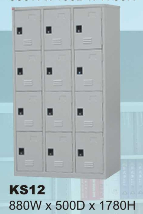 Tủ locker KS - 12