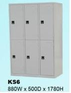 Tủ locker KS - 6